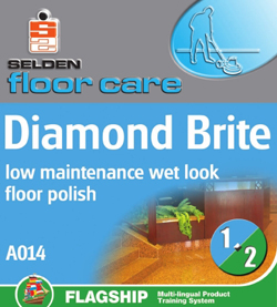 Selden Diamond Brite Floor Polish - A014 - 5Ltr